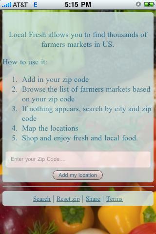 Local & Fresh US Screenshot 0